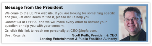 Message from Scott Keith, LEPFA President & CEO